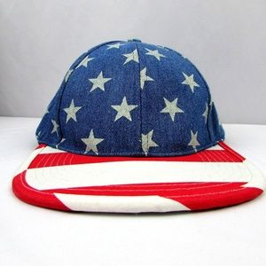 NEW Urban Pipeline Flatbill Stars and Stripes L/XL